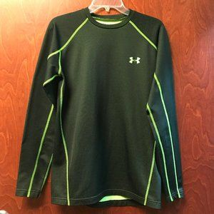 Under Armor Cold Gear Fitted Tennis Theme Top